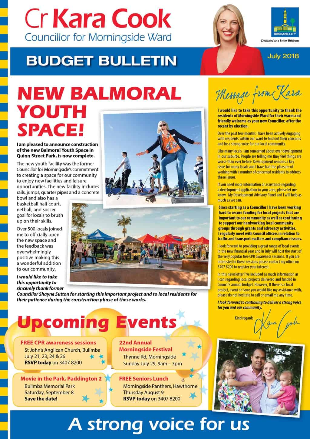 New Balmoral Youth Space